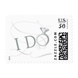 Wedding Stamp - I Do