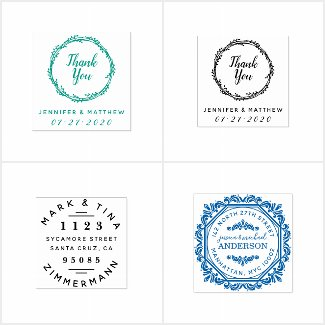 Wedding Stamps | By Rubber Stamps