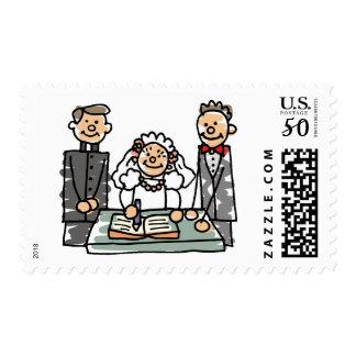 Wedding Stamps / Invitations 48