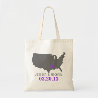 Wedding State Love Tote Bag