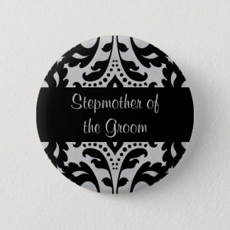 Wedding stepmother of the groom button