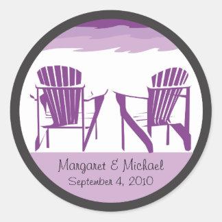 Wedding Sticker - Personalized