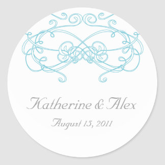 Wedding Stickers - Mystery