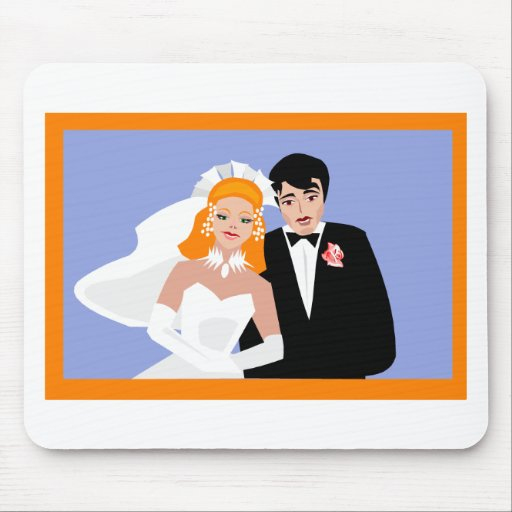 Wedding Supplies 5 Mouse Pad