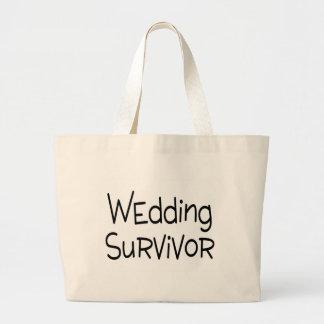 Wedding Survivor Canvas Bags
