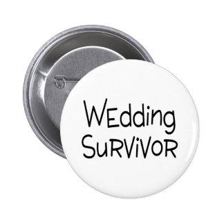 Wedding Survivor Button