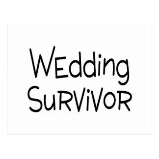 Wedding Survivor Postcard
