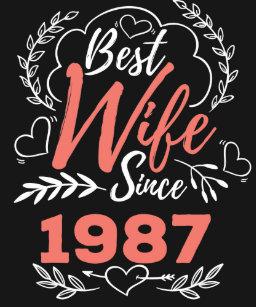 Wedding T Shirt 30 Years Anniversary Gift