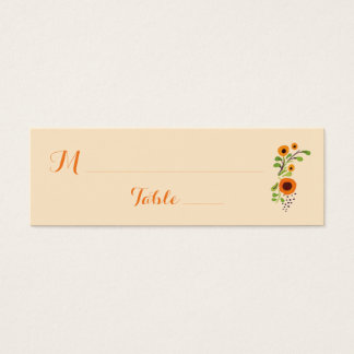 Wedding Table Guest Place Card Table Assignment