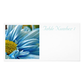 Wedding Table Numbers Card