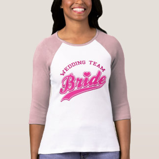 Wedding Team BRIDE T-Shirt