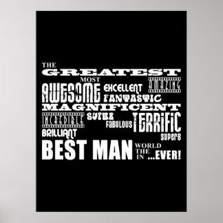 Wedding Thank You Best Men : Greatest Best Man Poster