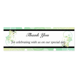 Wedding Thank You Bubble Star Fairy Tale Business Card Template