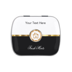 Wedding Thank You Candy Tins at Zazzle