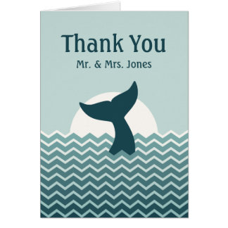 Wedding Thank You Stationery Note Card