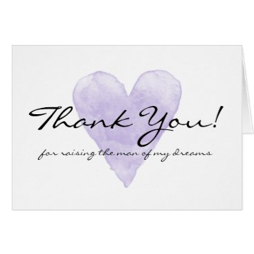 logotees Wedding thank you cards for mother in law