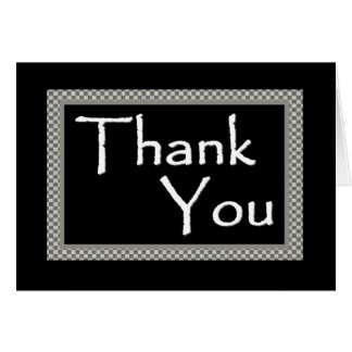 Wedding Thank You - Customizable Greeting Card