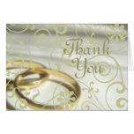 Wedding Thank You (Customizable Color!) Card
