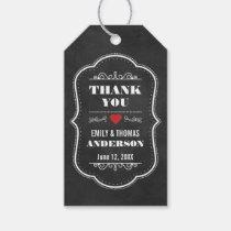 Wedding Thank You Favor Chalkboard Gift Tags R