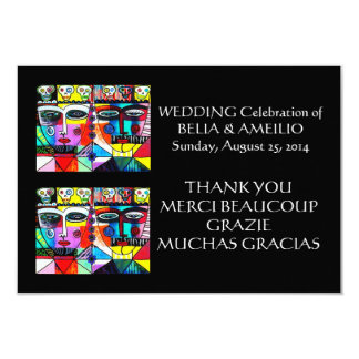 Wedding Thank You Note - Day Of The Dead Card