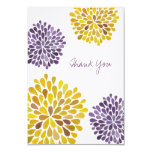 Wedding Thank You Note Flat Linen Cards Personalized Invitation