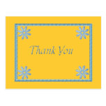 Wedding Thank You Note Postcards