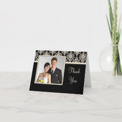 Wedding Thank You photo cards card