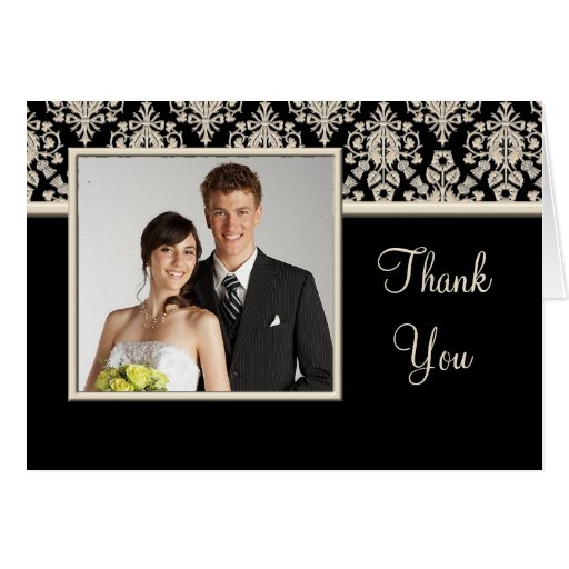 Wedding Thank You photo cards