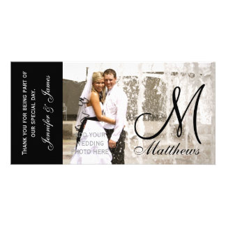 Wedding Thank You Photo Cards Template