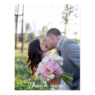 Wedding Thank You Post Card