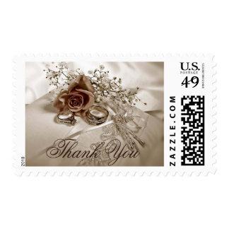 Wedding Thank You postage
