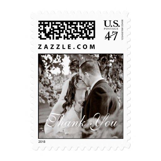 Wedding Thank You Postage Stamp