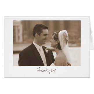 Wedding (Thank you!) Stationery Note Card