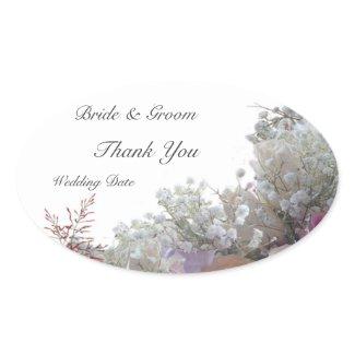 Wedding Thank You sticker