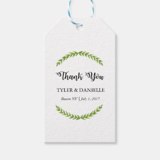 Wedding Thank You Tag