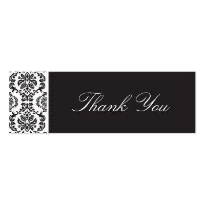 wedding thank you card designs. WEDDING :: thank you tag