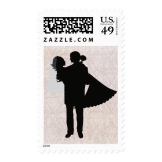 Wedding Threshold Postage Stamps