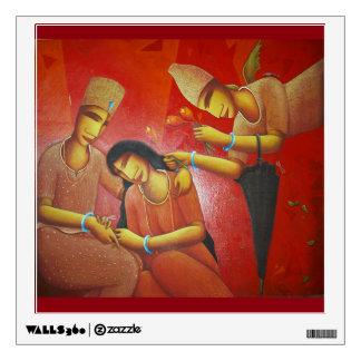 WEDDING TIME ART WALL STICKER