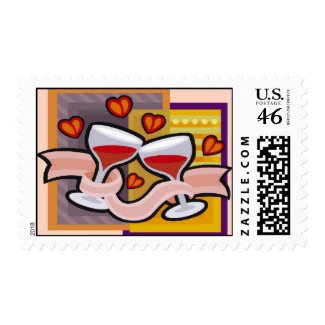 Wedding Toast stamp
