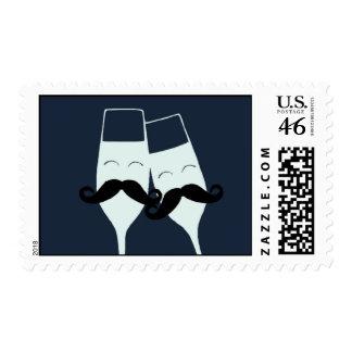 Wedding Toast Postage Stamp