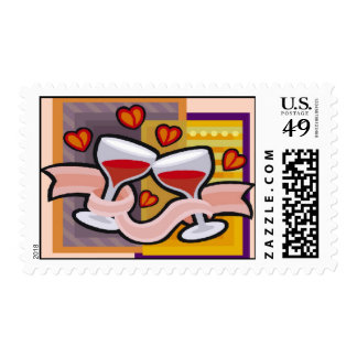 Wedding Toast Stamps