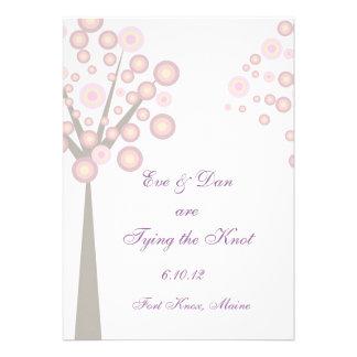 Wedding Tree Custom Announcements