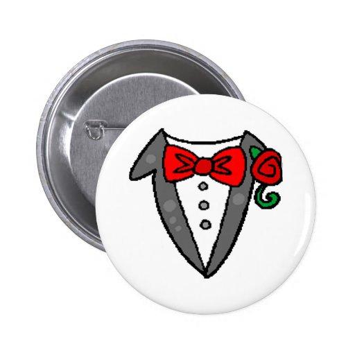 Wedding Tuxedo Button