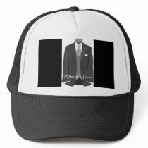 Wedding Tuxedo Father of the Groom Hat Cap