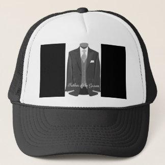 Wedding Tuxedo Father of the Groom Hat Cap