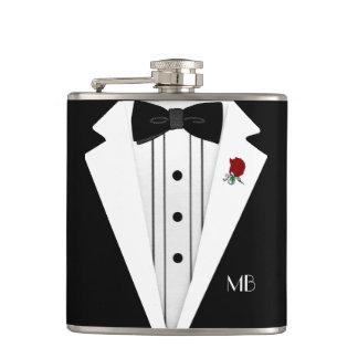 Wedding Tuxedo-Grooms Flasks