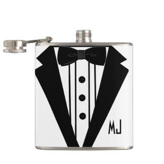 Wedding Tuxedo-Grooms Flask
