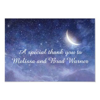 Wedding under the stars general card