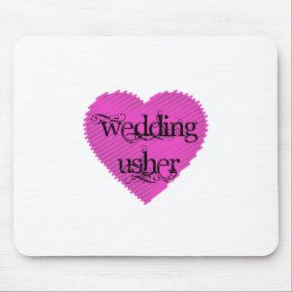 Wedding Usher Mouse Pad