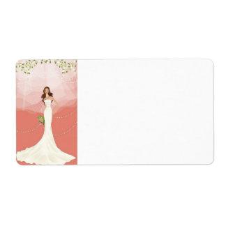 Wedding Vector Graphic 18 Label